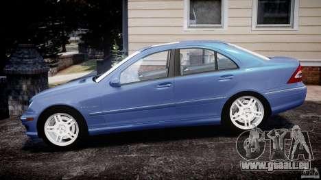 Mercedes-Benz C32 AMG 2004 für GTA 4 linke Ansicht