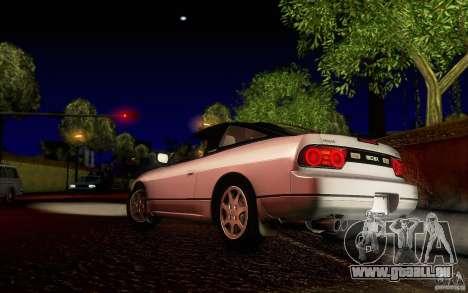 Nissan 180SX Kouki pour GTA San Andreas sur la vue arrière gauche