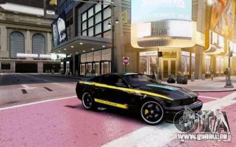 Ford Mustang (Shelby Terlingua) v1.0 pour GTA 4 Vue arrière de la gauche