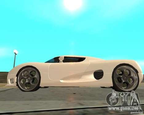 Koenigsegg CCRT pour GTA San Andreas laissé vue