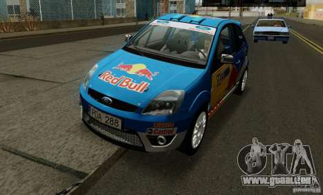 Ford Fiesta ST Rally für GTA San Andreas