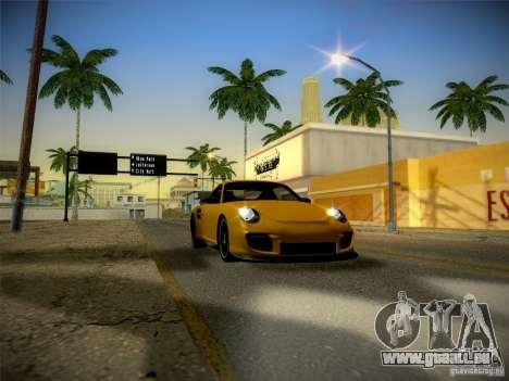 Porsche 997 GT2 pour GTA San Andreas vue intérieure