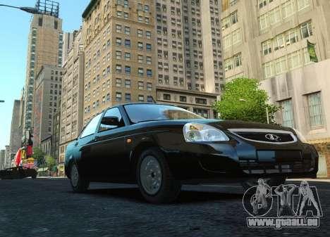 VAZ Lada 2170 Priora pour GTA 4 est un côté