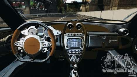 Pagani Huayra 2011 v1.0 [EPM] für GTA 4 Rückansicht