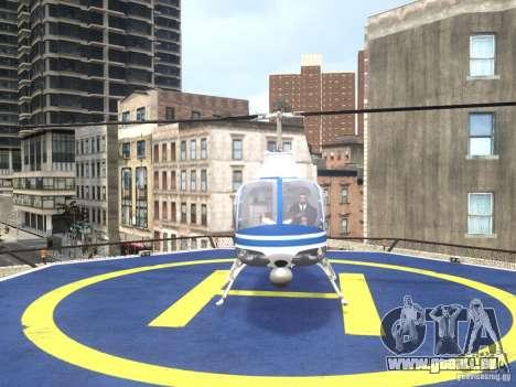 Bell 206 B - NYPD für GTA 4 rechte Ansicht