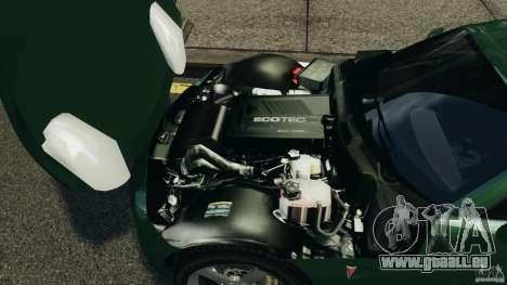 Pontiac Solstice 2009 pour GTA 4 Vue arrière