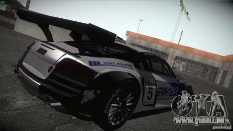 Audi R8 LMS für GTA San Andreas Unteransicht