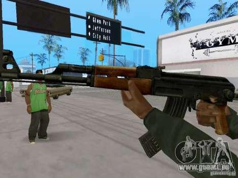 AKC - 47 HD für GTA San Andreas zweiten Screenshot