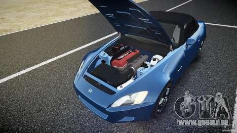 Honda S2000 2002 v2 pour une balade tranquille pour GTA 4 est une vue de dessous
