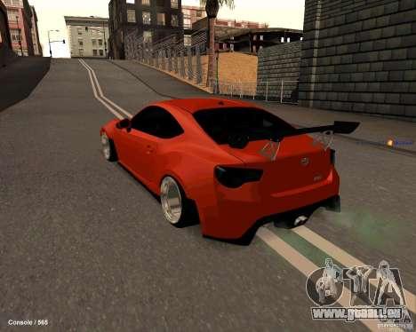 Scion FR13 pour GTA San Andreas laissé vue