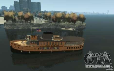 Staten Island Ferry für GTA 4 linke Ansicht
