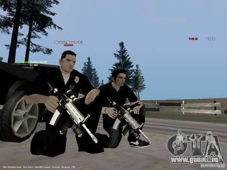 Black & White guns für GTA San Andreas