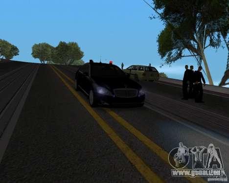 Emergency Lights pour GTA San Andreas deuxième écran