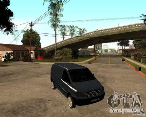Mercedes-Benz Vito 2009 für GTA San Andreas rechten Ansicht