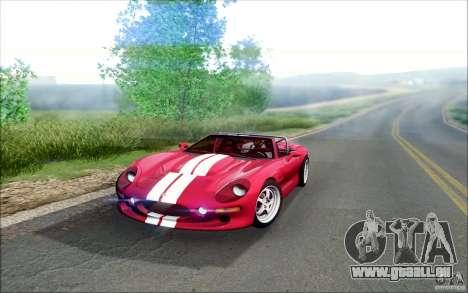 Shelby Series 1 1999 für GTA San Andreas linke Ansicht