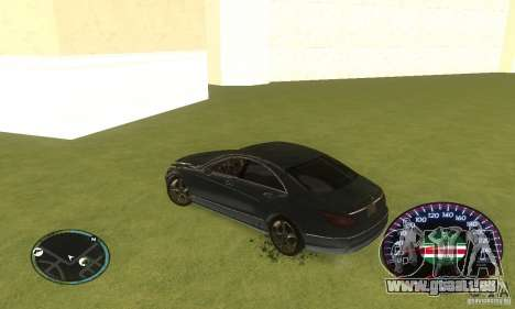 Chechen Speedometr pour GTA San Andreas quatrième écran