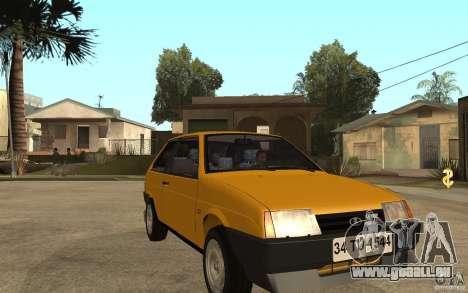 VAZ Lada Samara 2108 Sport pour GTA San Andreas vue arrière