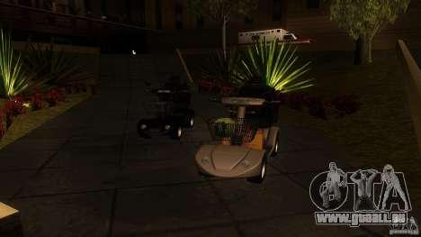 Elektroscooter - Speedy pour GTA San Andreas laissé vue