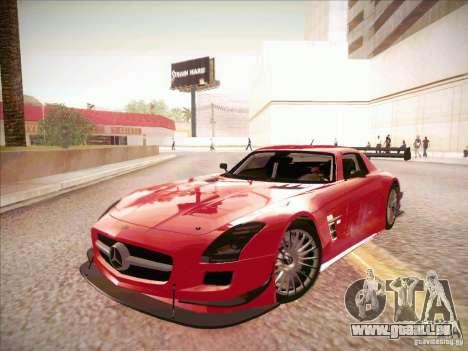 Mercedes-Benz SLS AMG GT-R pour GTA San Andreas laissé vue