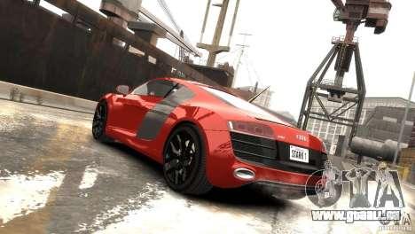 Audi R8 V10 2010 [EPM] pour GTA 4 est un droit