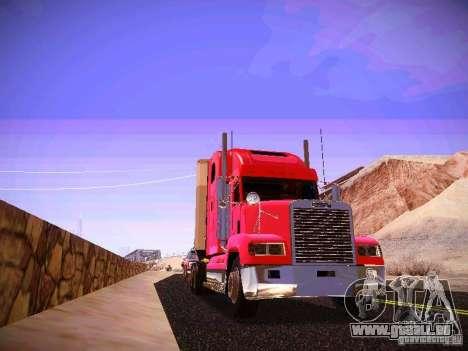 Freightliner FLD 120 pour GTA San Andreas vue arrière