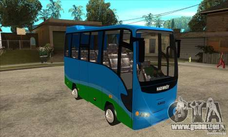 Iveco Eurocity für GTA San Andreas Rückansicht