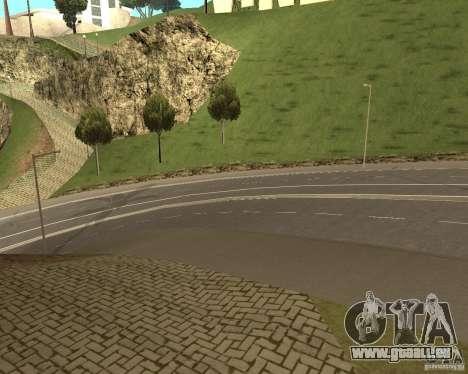 Neue Straßen in Vinewoode (Los Santos) für GTA San Andreas dritten Screenshot