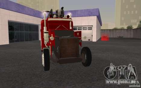Peterbilt 379 Fire Truck ver.1.0 für GTA San Andreas Unteransicht