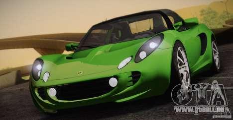 Lotus Elise 111s 2005 v1.0 für GTA San Andreas Innenansicht