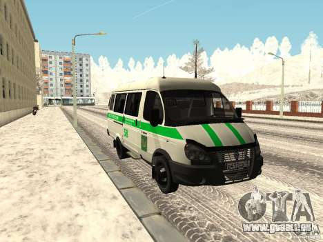 Business 3302 gazelle pour GTA San Andreas