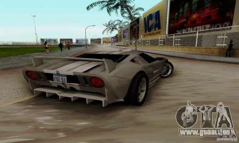Ford GT Tuning pour GTA San Andreas vue de droite