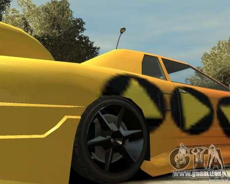 Elegy Tuning für GTA 4 Rückansicht