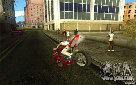 Yamaha YZF R1 Tuning Version für GTA San Andreas linke Ansicht