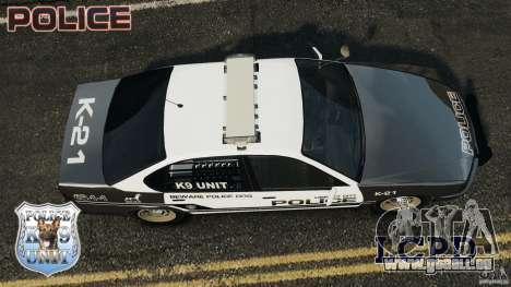 LCPD K9 Unit für GTA 4 rechte Ansicht