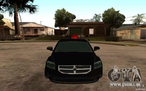 Dodge Caliber für GTA San Andreas rechten Ansicht