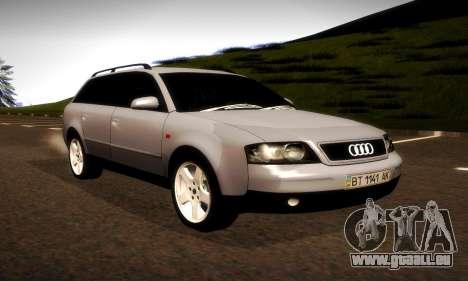 Audi A6 C5 Avant 3.0 pour GTA San Andreas