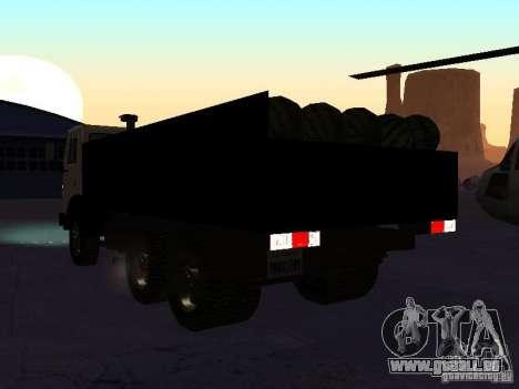 KAMAZ 53212 offen für GTA San Andreas linke Ansicht