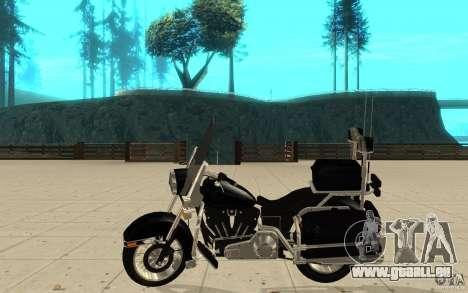 GTAIV TBOGT PoliceBike für GTA San Andreas linke Ansicht