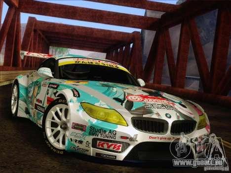 BMW Z4 E89 GT3 2010 Final für GTA San Andreas Seitenansicht