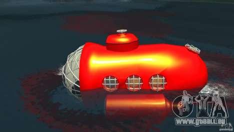 Submarine für GTA 4 linke Ansicht