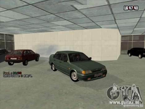 VAZ 2115 Drain pour GTA San Andreas