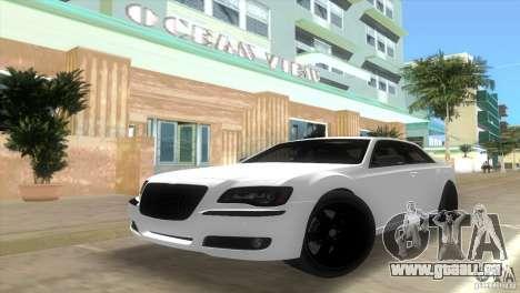 Chrysler 300C SRT V10 TT Black Revel 2011 für GTA Vice City