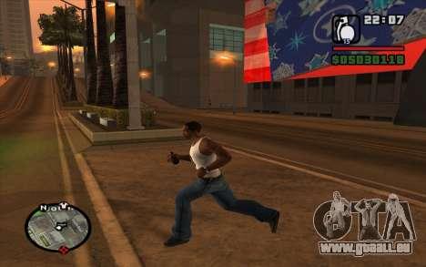 RGD-5 pour GTA San Andreas deuxième écran