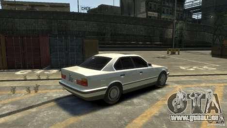 BMW 525i für GTA 4 rechte Ansicht
