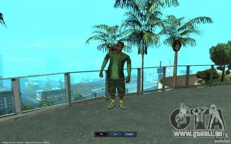 Crime Life Skin Pack für GTA San Andreas achten Screenshot
