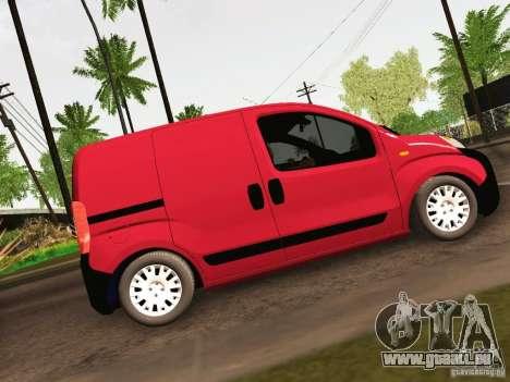 Peugeot Bipper für GTA San Andreas Rückansicht