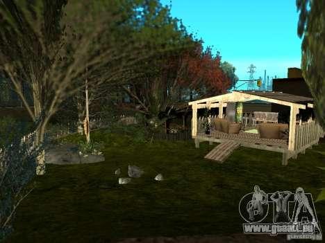 New Grove Street TADO edition pour GTA San Andreas neuvième écran