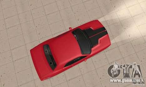 Dodge Challenger 2007 pour GTA San Andreas vue de droite
