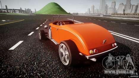 Hot Rod pour GTA 4 Vue arrière de la gauche