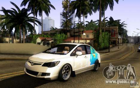 Honda Civic FD BlueKun pour GTA San Andreas